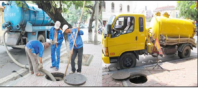 Nơi hút hầm cầu thông cống huyện Tân Thành
