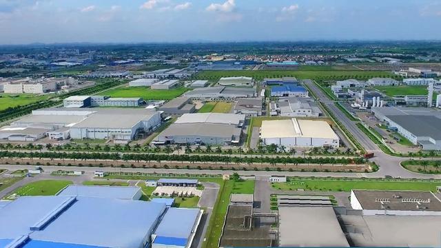 cụm công nghiệp Hoà Long