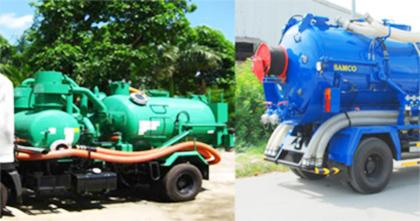 Công ty hút hầm huyện Tân Thành