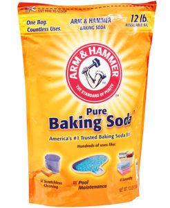 khử mùi hôi bồn cầu bằng Baking Soda