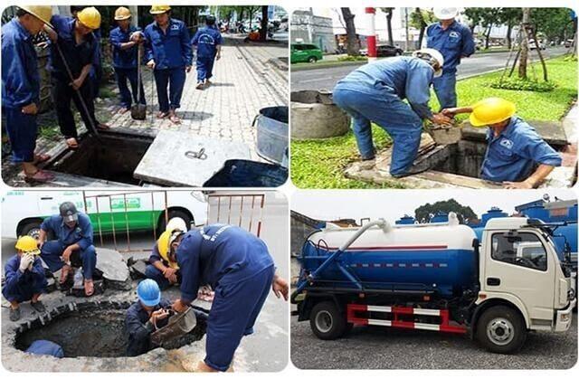 Quy trình thi công dịch vụ rút hầm cầu