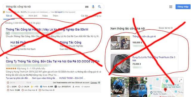 Cảnh giác với đơn vị chạy quảng cáo trên mạng