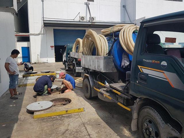 dịch vụ hút hầm cầu tại Phú Mỹ