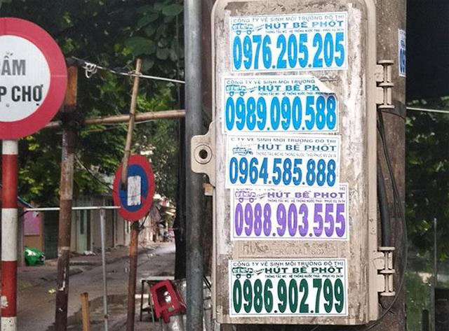 Chiêu trò hầm cầu tại Phú Mỹ lừa đảo