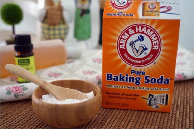 thông cống nghẹt bằng bakingsoda